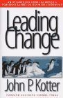 book covers leading change