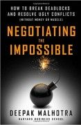 book covers negotiating the impossible