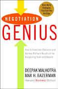 book covers negotiation genius