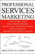book covers professional services marketing