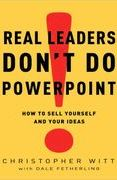 book covers real leaders dont do powerpoint