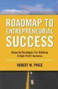 book covers roadmap to entrepreneurial success