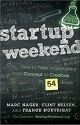 book covers startup weekend