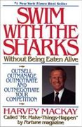 book covers swim with the sharks without being eaten alive