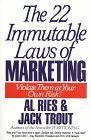 book covers the 22 immutable laws of marketing
