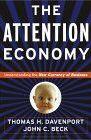 book covers the attention economy