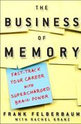 book covers the business of memory