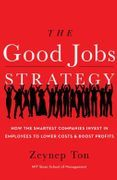 book covers the good jobs strategy