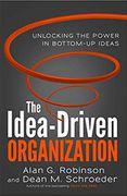book covers the idea driven organization