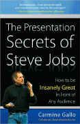 book covers the presentation secrets of steve jobs