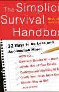 book covers the simplicity survival handbook