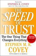 book covers the speed of trust