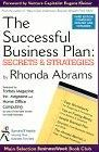book covers the successful business plan