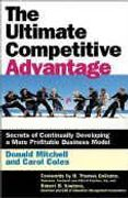 book covers the ultimate competitive advantage