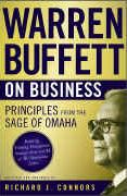 book covers warren buffett on business