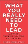 book covers what you really need to lead
