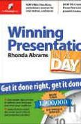 book covers winning presentation in a day