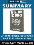 summary covers the alter ego effect