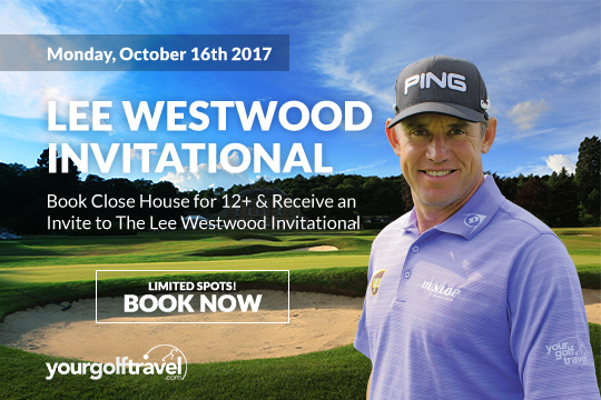 Lee Westwood Golf Day