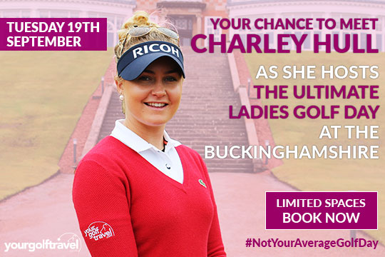 Charley Hull Ladies Golf Day