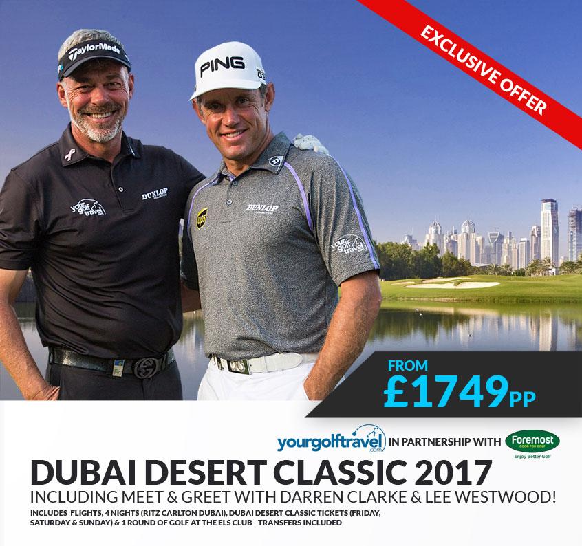 Dubai Desert Classic 2017