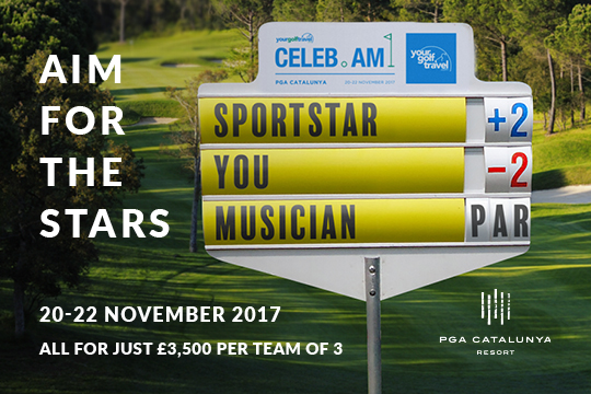 Your Golf Travel Celeb Am at PGA Catalunya Resort