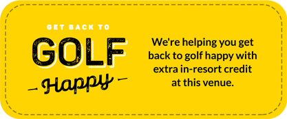 Getting you back to Golf Happy