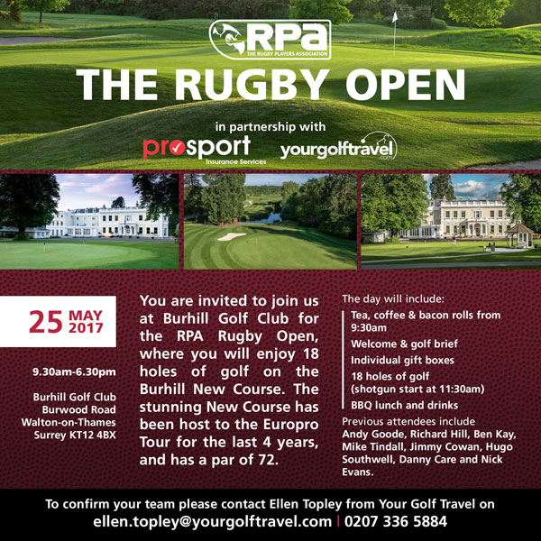 Rugby Golf Day