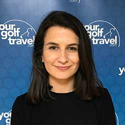 Zoe Fitz-Costa, Your Golf Travel