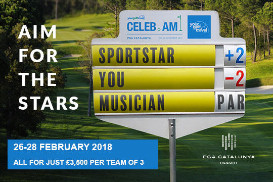 Your Golf Travel Celebrity Invitational at PGA Catalunya Resort