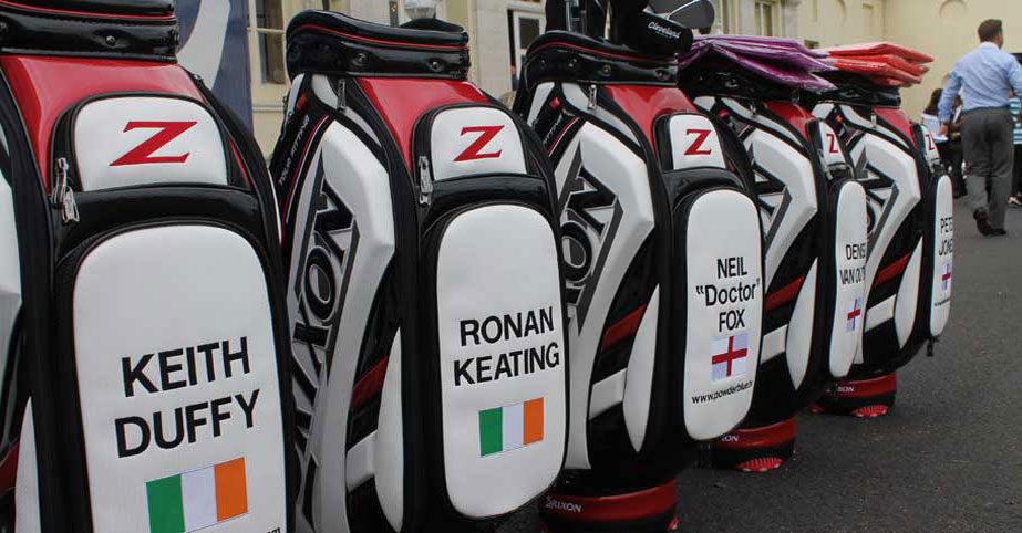 Celebrity golf bags