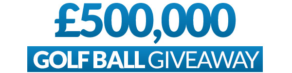 £500,000 Golf Ball Giveaway