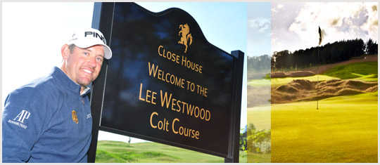 Lee Westwood & Close House