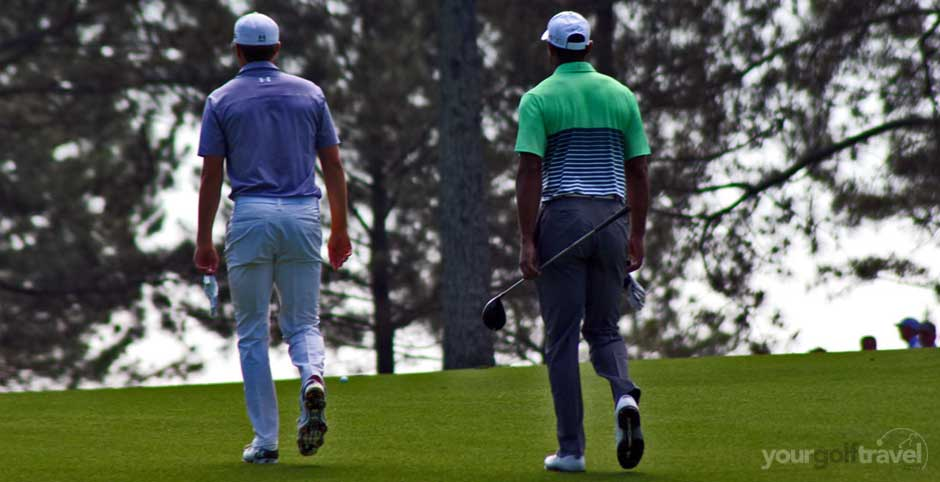 Spieth and Woods