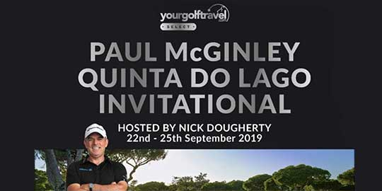 Paul McGinley YGT Select Event