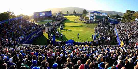 Ryder Cup packages available