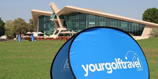 Team YGT at Abu Dhabi Golf Club