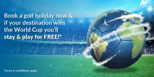 World Cup Promotion - Stay and Play for Free