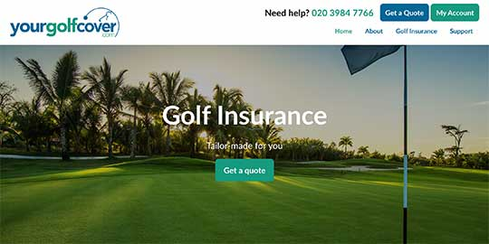 Your Golf Cover - Golf Insurance