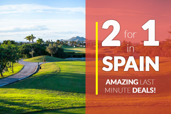 2 for 1 Spain Golf Holidays