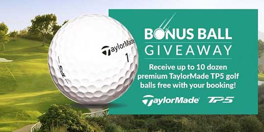 Free Premium TaylorMade Golf Balls
