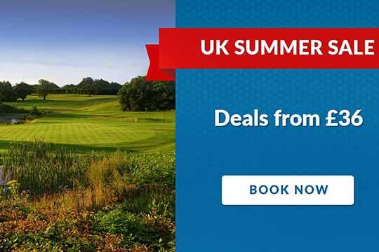 UK Summer Golf Sale