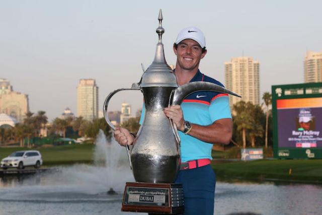 Rory Mcilroy Dubai Desert Classic