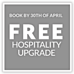 Book by 30th April for free hospitality upgrade