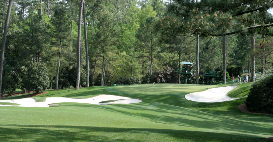 10th Green at Augusta National