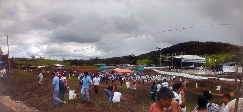 colombia fieldwork