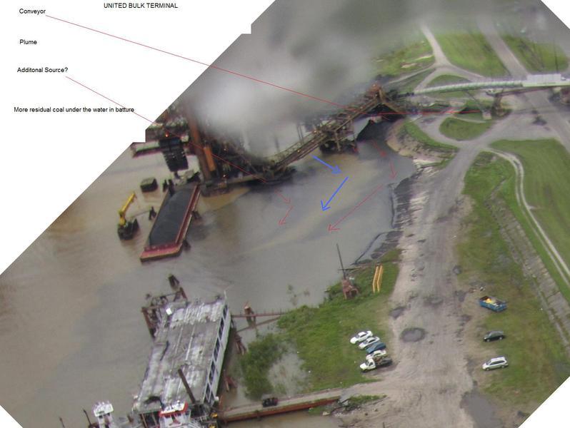 Coal terminal monitoring
