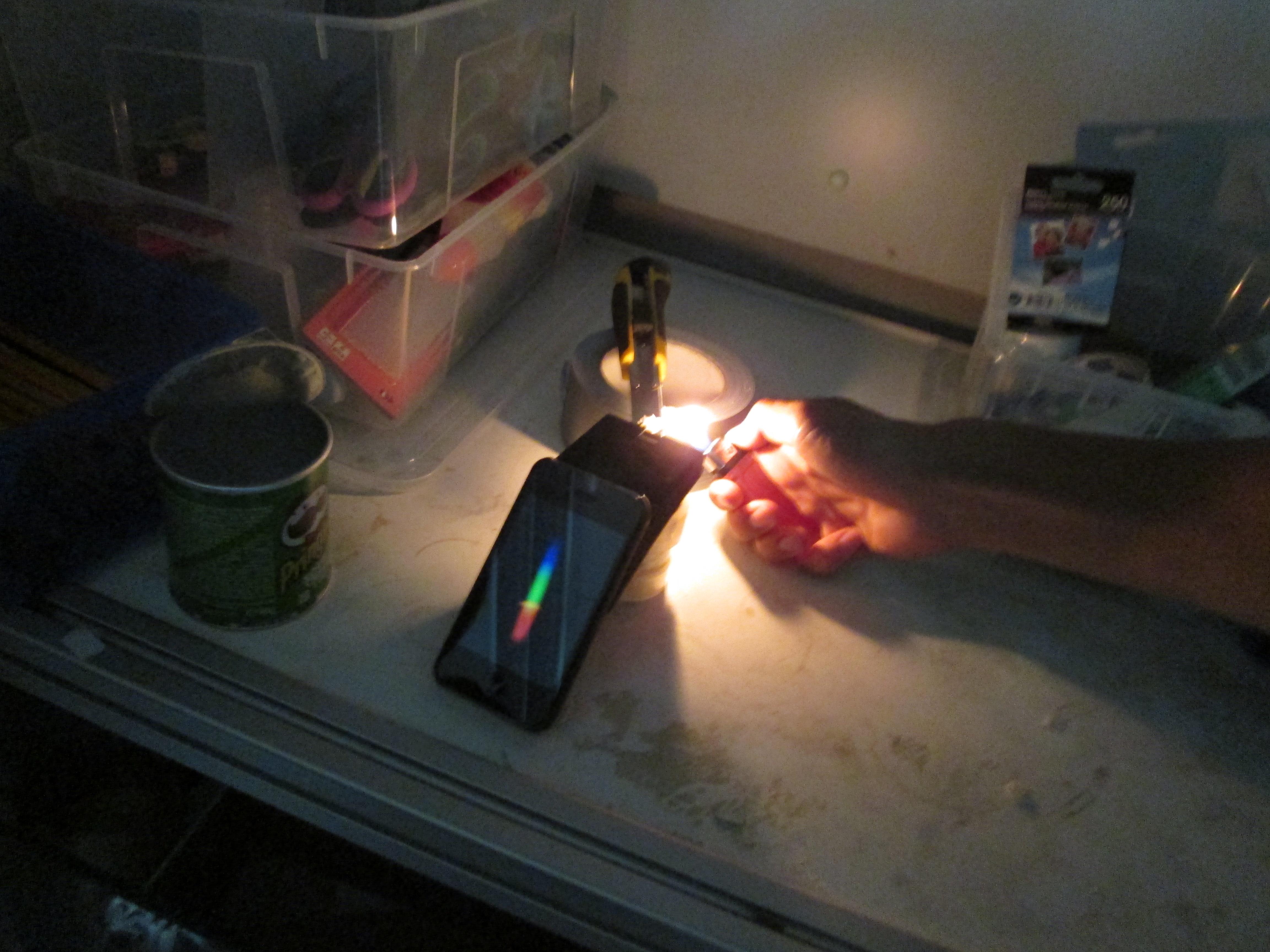 Public Lab Spectrometry Sampling