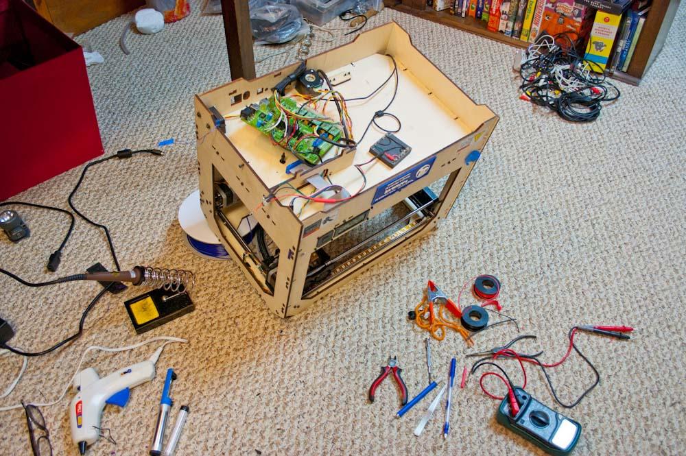 🎈 Public Lab: Makerbot machine logs