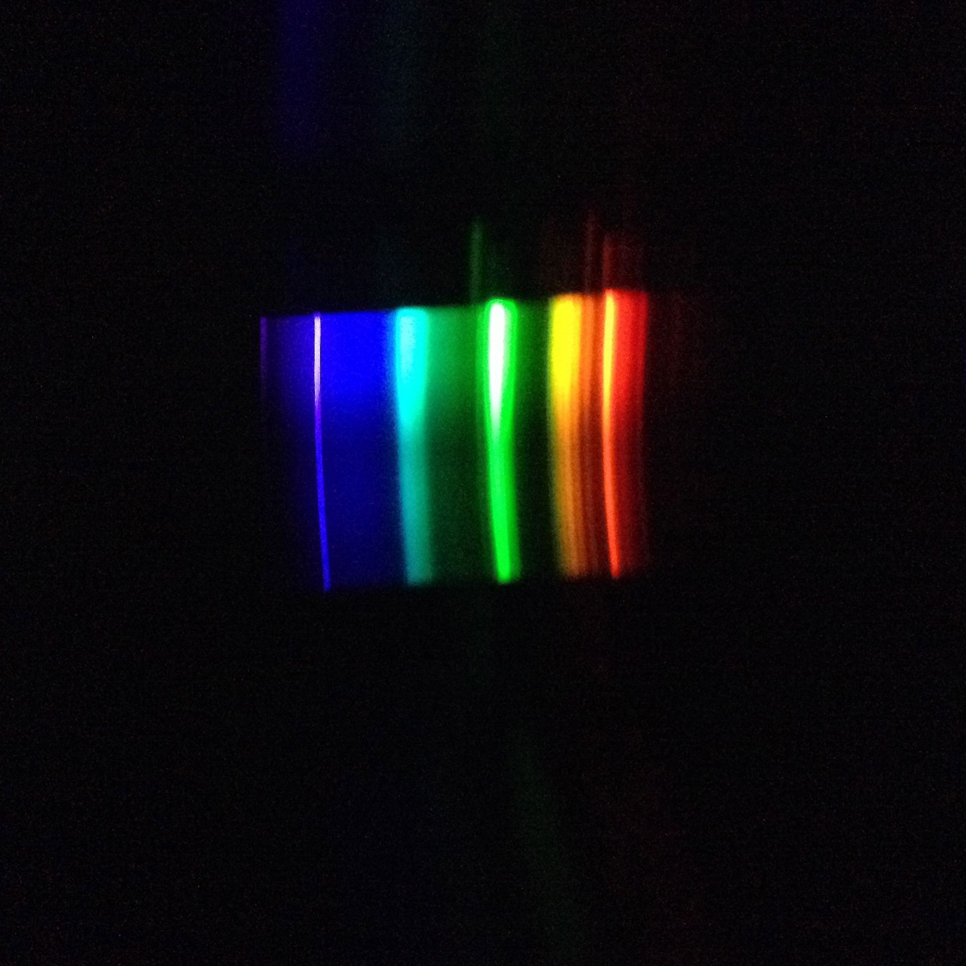 Public Lab Calibrating Spectrometers From Fluorescent